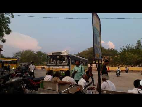 Markapur Prakasam district bus stop
