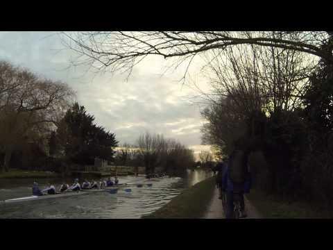 Cambridge University Lents Bumps 2015, day2, M1: Robinson Girton deathmatch
