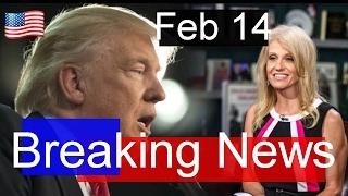 breaking president donald trump latest news today 2 14 17 interview w betsy devos educ secretary