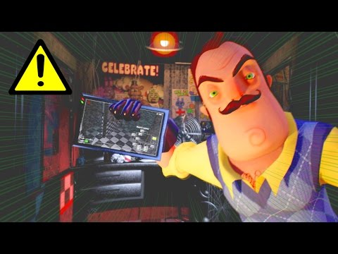 Hello Neighbor in Five Nights at Freddy's