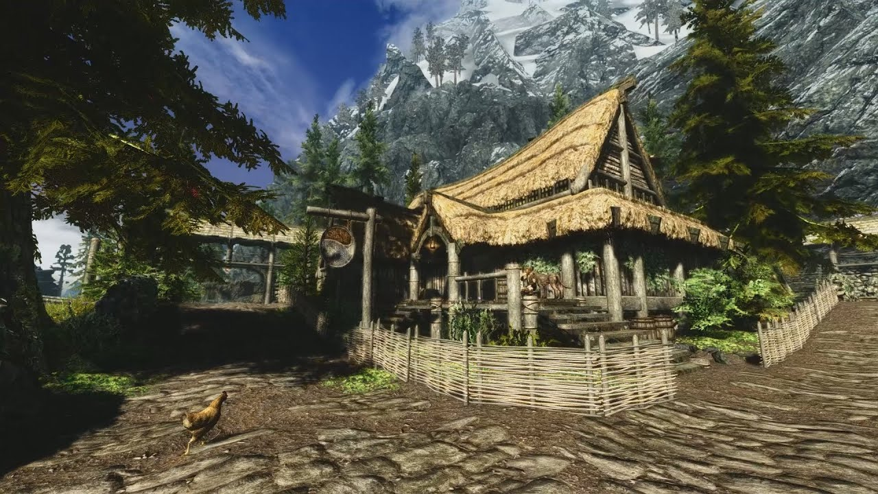 Best Skyrim Graphics Mods 2014: Ultra Realistic Overhaul Sharpshooters ENB  and Climates of Tamriel