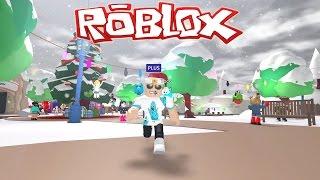 Roblox / Meep City - Santa Cop, Christmas Tree, and I Killed a Guy! / Gamer Chad Plays