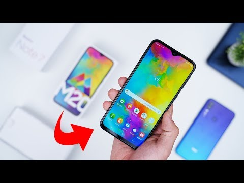 Image of Rp2.799 JUTA! Unboxing Samsung Galaxy M20 Indonesia!