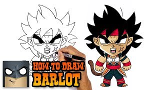 How to Draw Barlot | Dragon Ball Fusion