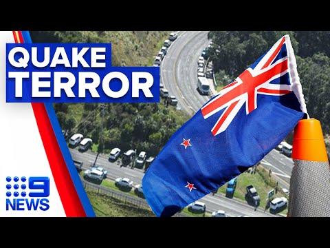 New Zealand earthquake and tsunami threat passes   9 News Australia