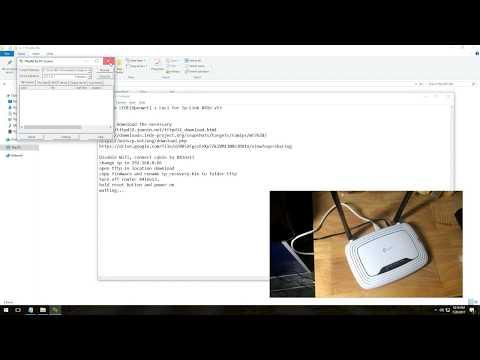 Tp-Link 841n v13 upgrade Openwrt (Lede) + Luci GUI