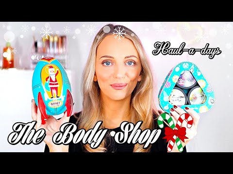THE BODY SHOP CHRISTMAS GIFTS HAUL |  HAUL-A-DAYS