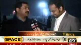 Hamid Mir (capital Talk) Exposed President Asif Ali Zardari Disease.flv