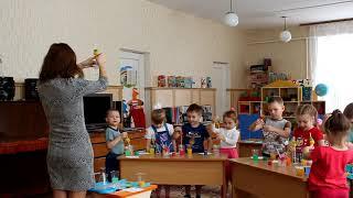 """Открытое занятие участницы конкурса """"Воспитатель года - 2018"""""""
