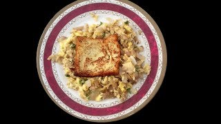 French Tost And Spicie Egg Scramble