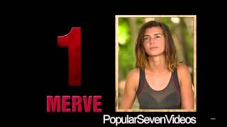 Survivor Sms Sonuçları izle Survivor All Star Kim Elendi 27 Mayıs 2015 All Star
