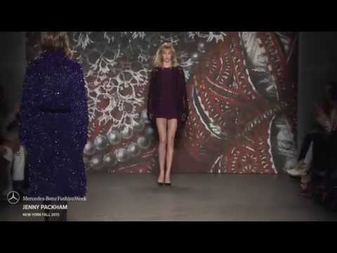 JENNY PACKHAM MERCEDES-BENZ FASHION WEEK FW 2015 COLLECTIONS