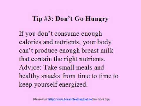 Weight Loss While Breastfeeding – Some Tips