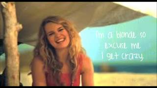 Bridgit Mendler- Blonde (Official Lyric Video)