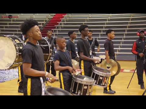 GREENVILLE HIGH VS LR PARKVIEW HIGH PERCUSSION BATTLE 2017