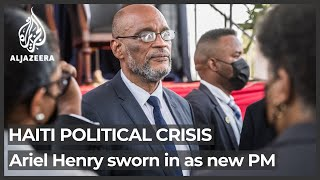 Amid political crisis, Haiti appoints new prime minister
