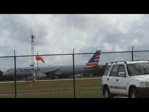 American a321 takeoff MWCR (kinda short vid)