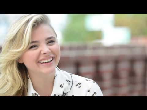Chloë Grace Moretz - Interview at Deauville Film Festival ...