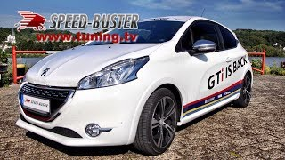 Peugeot 208 GTi with Speed-Buster Chiptuning-Box