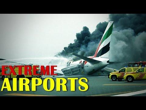 दुनियांके कूछ खतरनाक एअरपोर्ट्स |  World Most Dangerous Airports