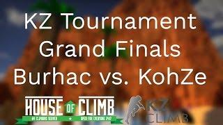 [CS:GO KZ] Grand Final of First Zach47 KZ Tournament: kohZe vs burhac