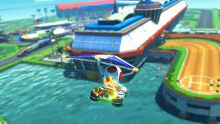 Mario Kart 8 TV - Sunshine Airport (50cc)