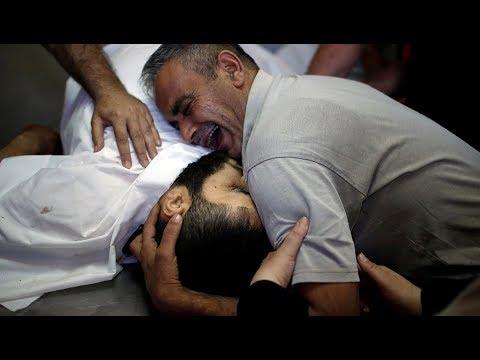 Gaza Activist: Israel's Massacres Won't Stop Our Struggle (1/2)