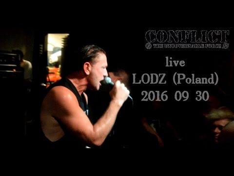 CONFLICT - live LODZ (Poland)