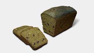 Заварной хлеб с клюквой и орехами