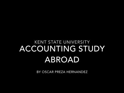 Kent State University Accounting Study Abroad 2017
