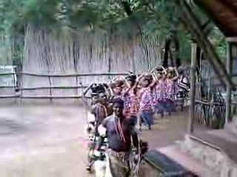 Swazi cultural center song/dance