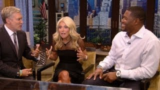 Michael Strahan Officially Joins Kelly Ripa as Co-Host