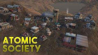 CONSTRUYENDO UNA CIUDAD EN EL APOCALIPISIS - Atomic Society Gameplay Español