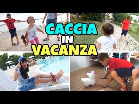 CACCIA AL TESORO IN VACANZA a Pineto Beach