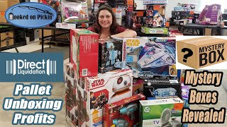Direct Liquidation Pallet Unboxing Review - Mystery Boxes Revealed & Profit numbers - Reselling