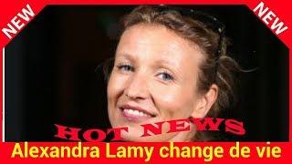 Alexandra Lamy change de vie : bye bye Londres, elle rentre à Paris et elle n'est pas seule