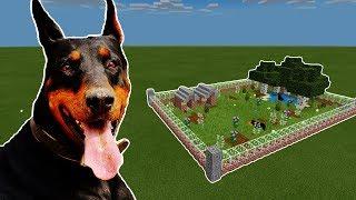 How To Make a DOBERMAN Farm in Minecraft PE