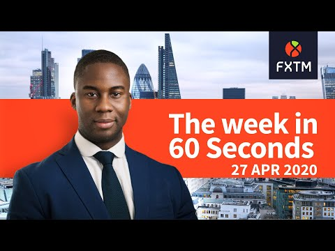 Central Banks, US GDP & Gold in focus: The week in 60 seconds | FXTM | 27/04/2020