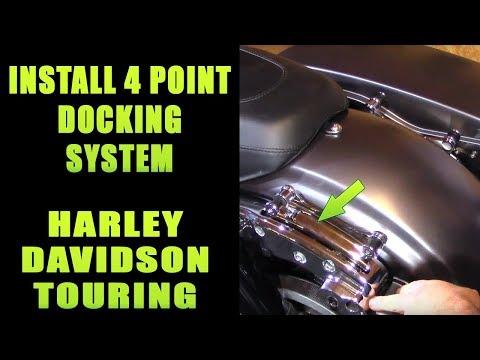 NEW Adjustable Chrome Backrest Sissy Bar 4 Four Points Docking Hardware /& Rack Kit For Harley Davidson Touring Electra Glide Road Glide Road King Street Glide 2009 2010 2011 2012 2013