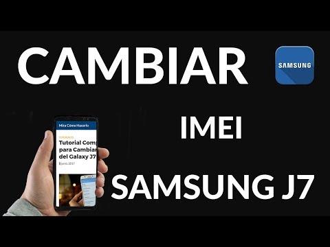 Tutorial Completo para Cambiar el IMEI del Galaxy J7