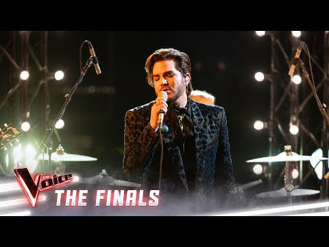 The Finals: Adam Lambert Sings 'New Eyes' | The Voice Australia 2019