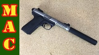 Griffin Armament Checkmate QD Suppressor
