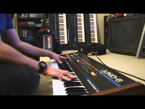 Roland Juno 6 (1982) HQ sound demo by Digital Strings