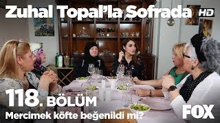 Mercimek köfte beğenildi mi? Zuhal Topal'la Sofrada 118. Bölüm