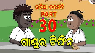 Natia Comedy part 30  Gandura Tiffin