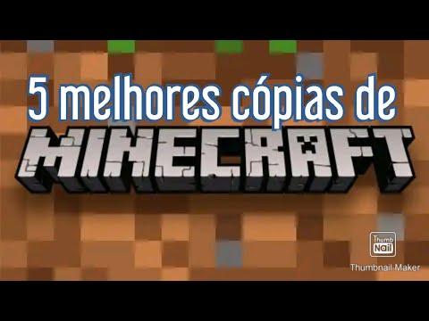 Download 5 melhores cópias de Minecraft!!