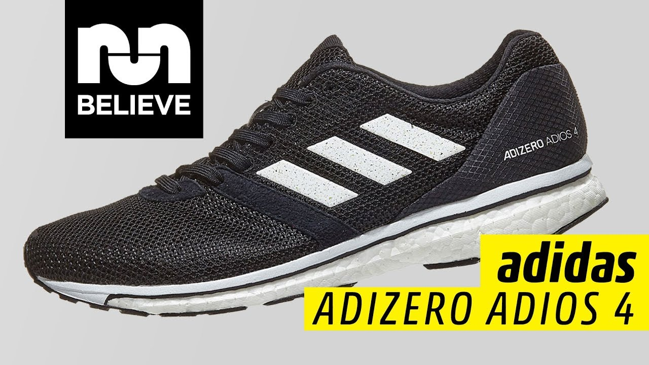 the best attitude c14fd 03374 Adidas Adizero Adios 4 Video Performance Review
