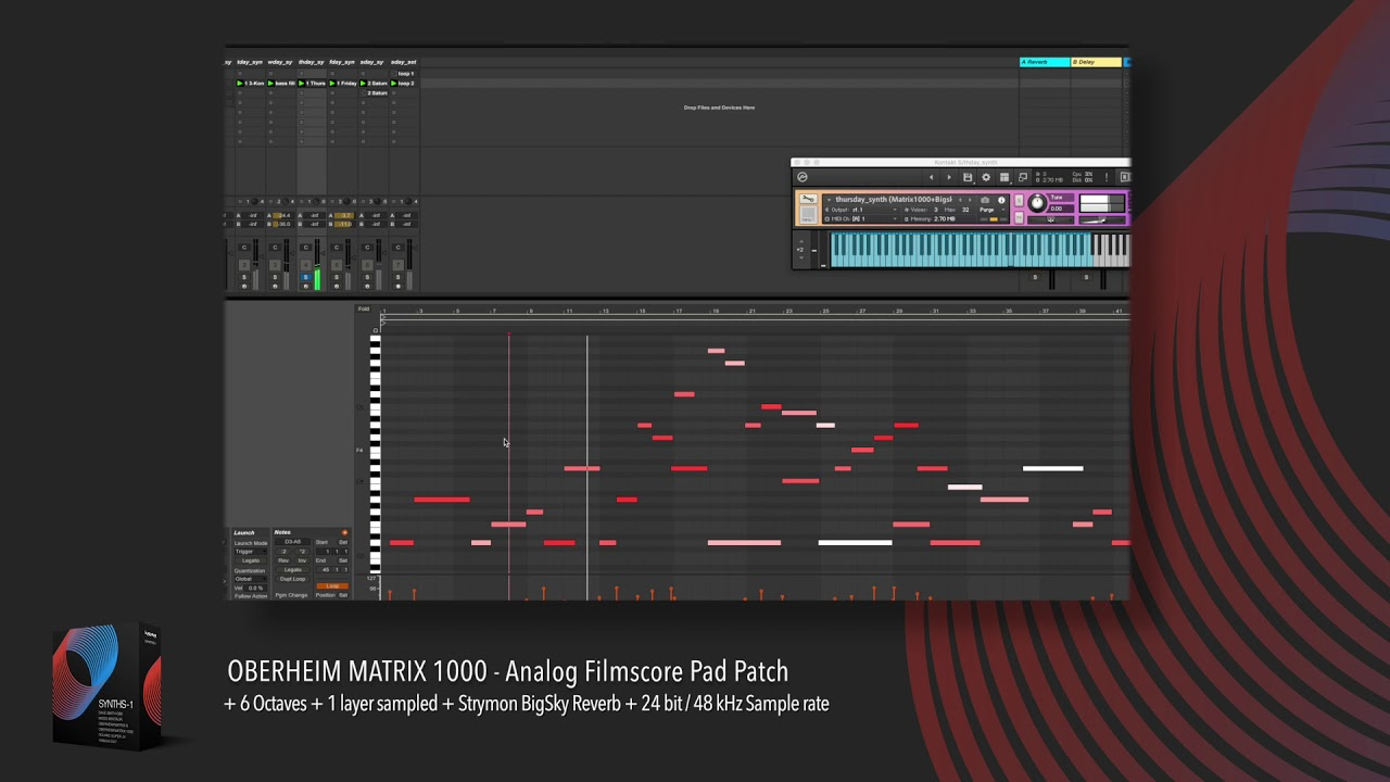 Free Synth Collection For Kontakt | Synthtopia