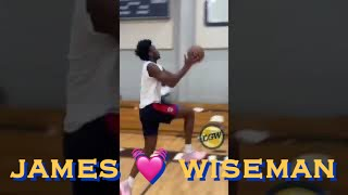 📱James Wiseman crossover 👀, ball-handling, heart and personality in off-season training in Miami
