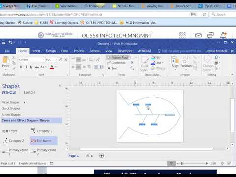 Visio 2016 Cause And Effect